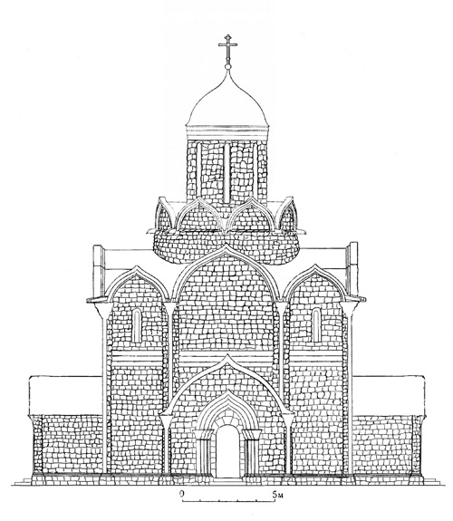 Russian Church Drawing Wanted to Build Churches
